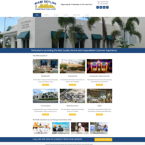 Miami Skyline Construction Corp